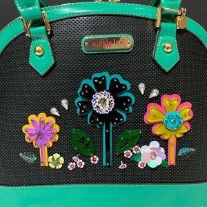 Nicole Lee Bags - ✤ Laser Cut Pop Flowers Dome Bag